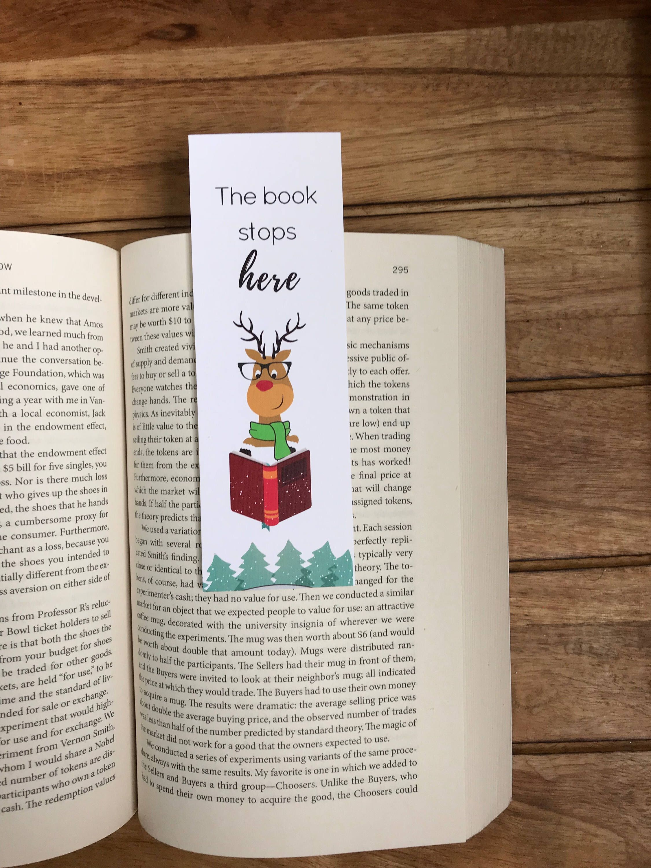 Excited to share the latest addition my  etsy shop Funny bookmark Gift for her Christmas gift Bookworm Book