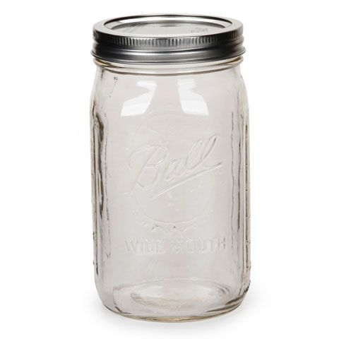 32 Oz Quart Size Wide Mouth Ball Mason Jar Ball Mason Jars Mason Jars