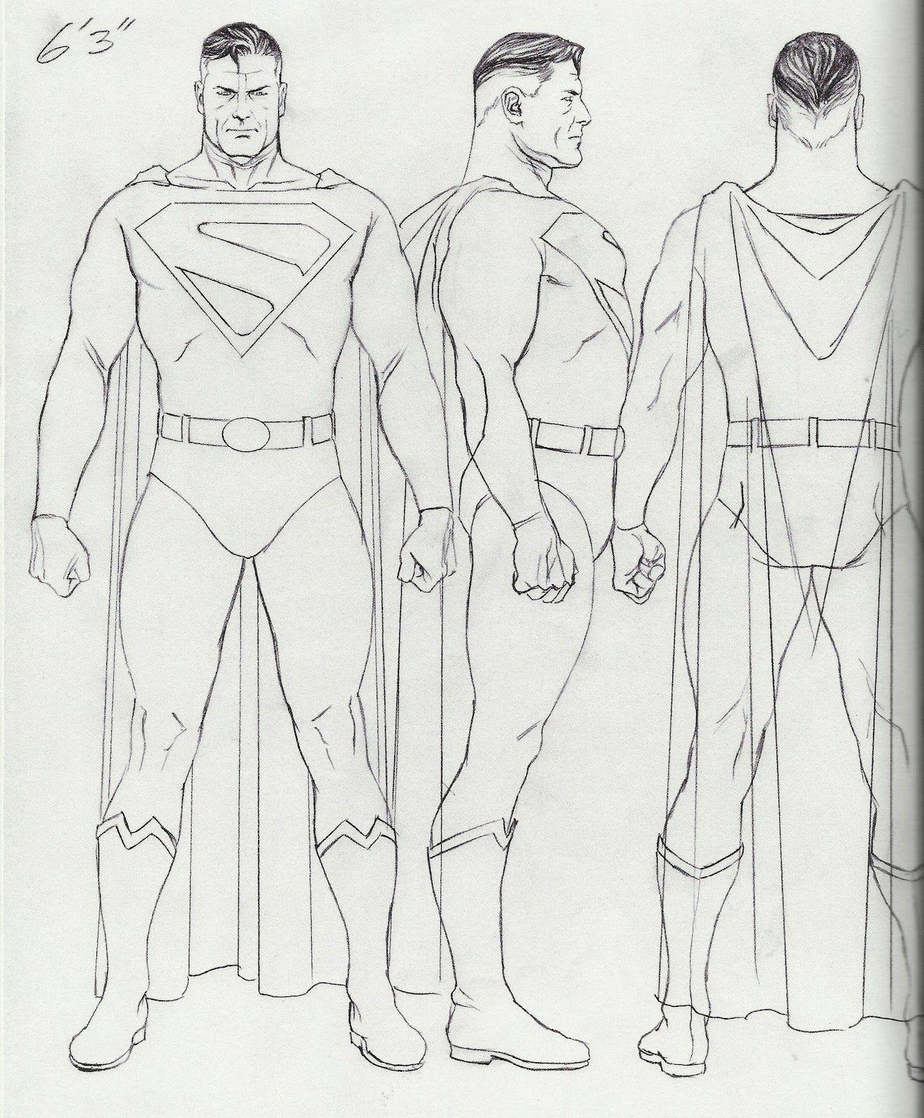 Super Alex Ross 1322 1600 Arte Em Quadrinhos Modelagem De