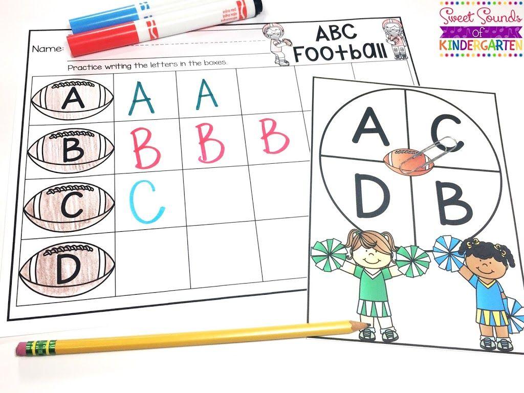 Alphabet Football Fun
