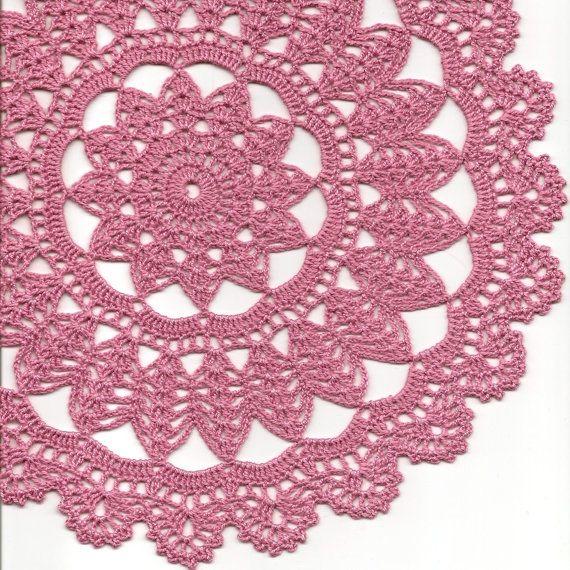 Crochet vintage doily | סריגה | Pinterest | Carpeta, Tapetes y Tejido