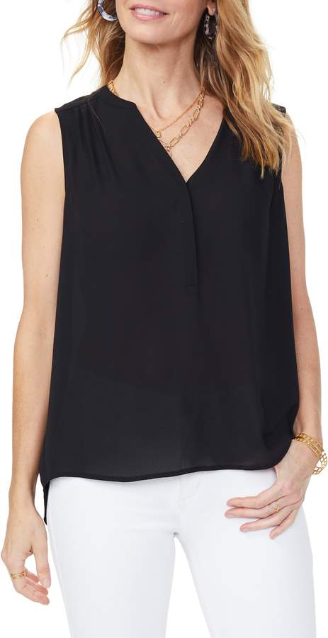 1a60636a0256bd Women's Curves 360 By Nydj Perfect Sleeveless Blouse, Size X-Small ...