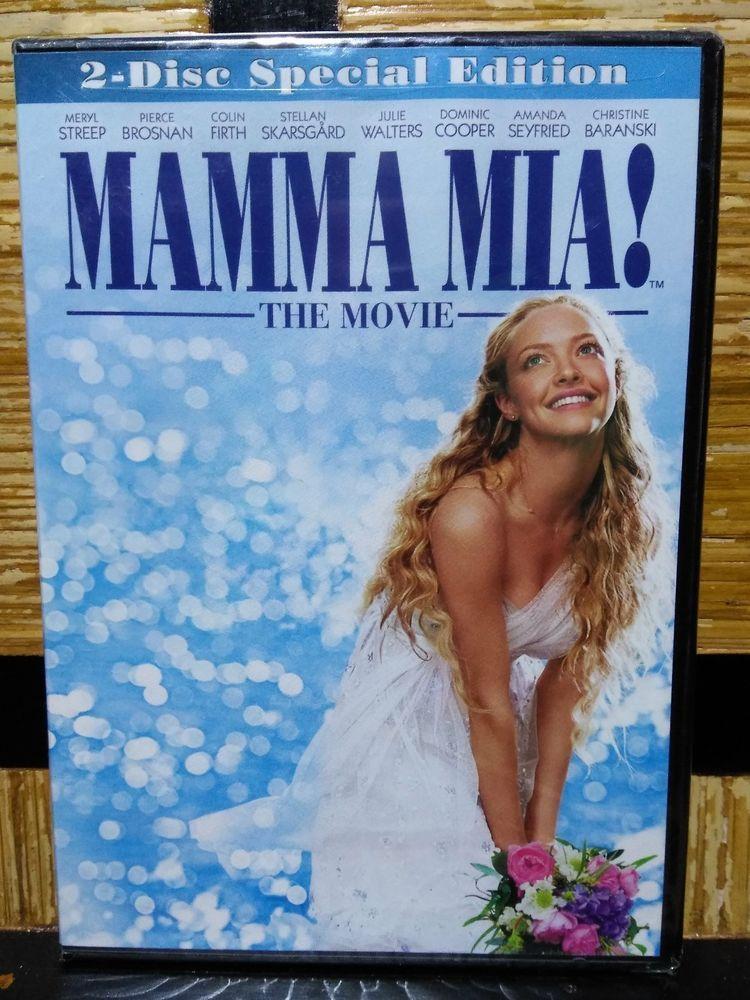 Mamma Mia 2 Disc Special Edition Dvd New Abba Musical Digital Ws