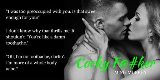 Cover Reveal Cocky F By Misti Murphy