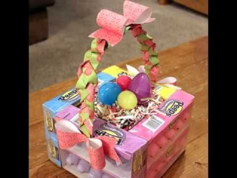 Homemade easter basket decorating ideas arts craftsdiy homemade easter basket decorating ideas negle Choice Image