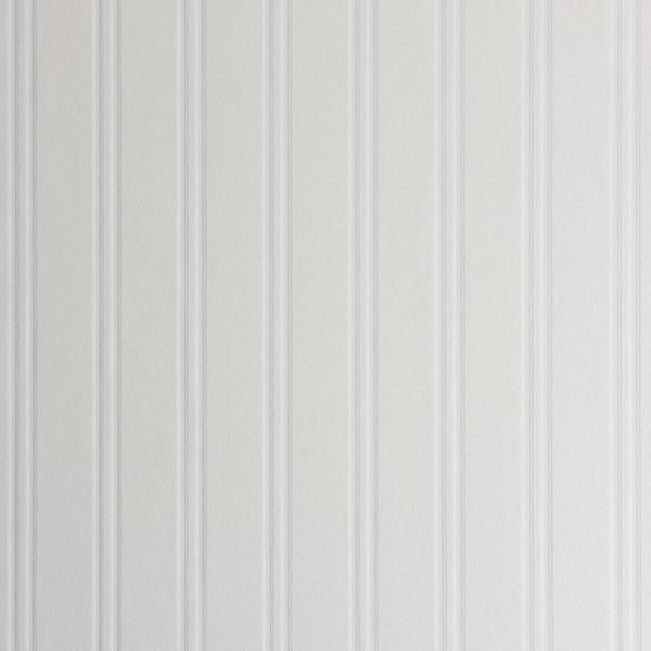 Graham Brown Beadboard Vinyl Strippable Wallpaper Covers 56 Sq Ft 02 103 The Home Depot In 2021 Beadboard Wallpaper White Beadboard Paintable Wallpaper