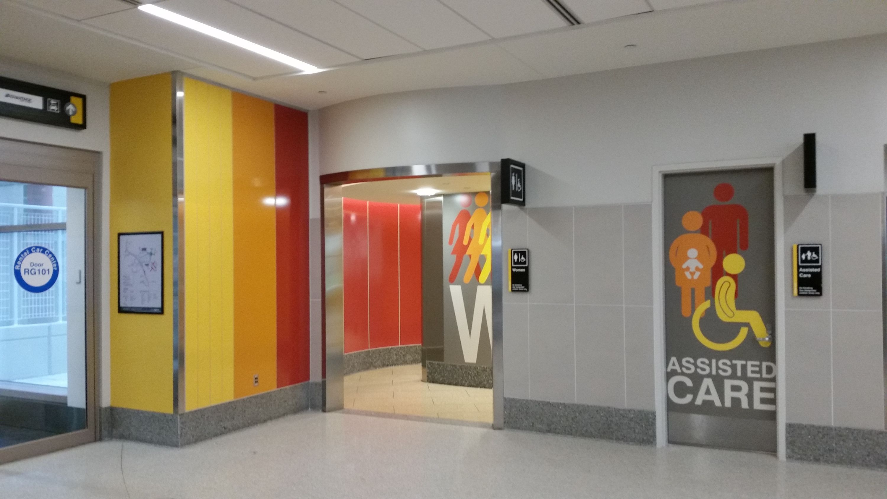 Logan Airport Boston Massachusetts Usa In Need Of Curved Brightly Colored Panels That Can Withstand Dirt And Gri Locker Storage Paneling Massachusetts Usa