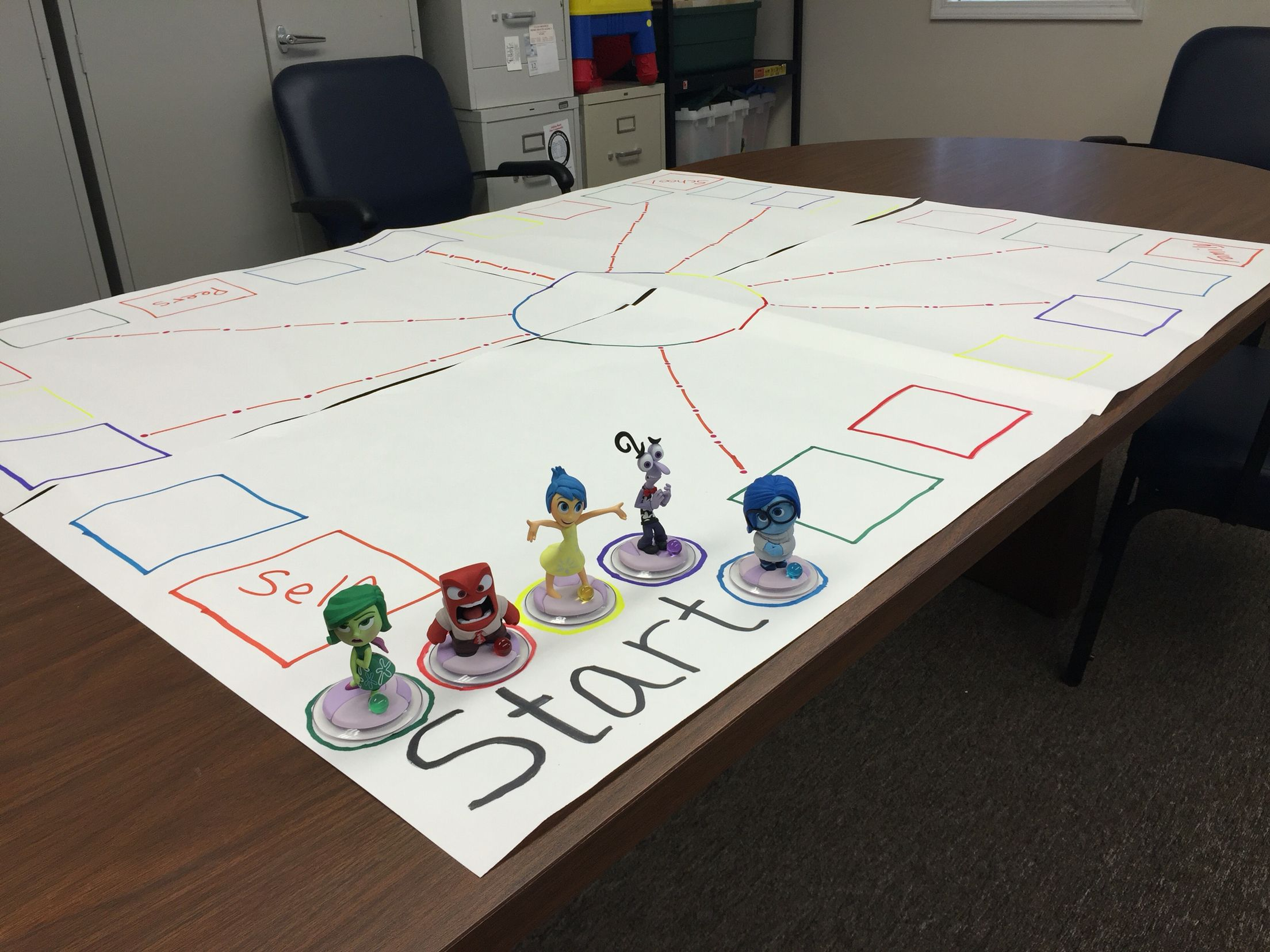 Inside Out Therapy Child Game