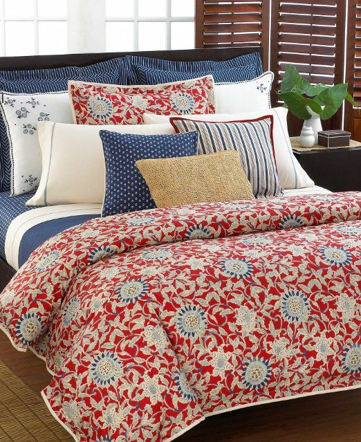 Ralph Lauren Cote D Azur Blue Stripe King Pillowcase Off White Simple Bedroom Design Bedroom Red Simple Bedroom