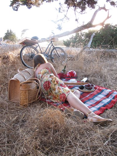 End Of Summer Bicycle Picnic