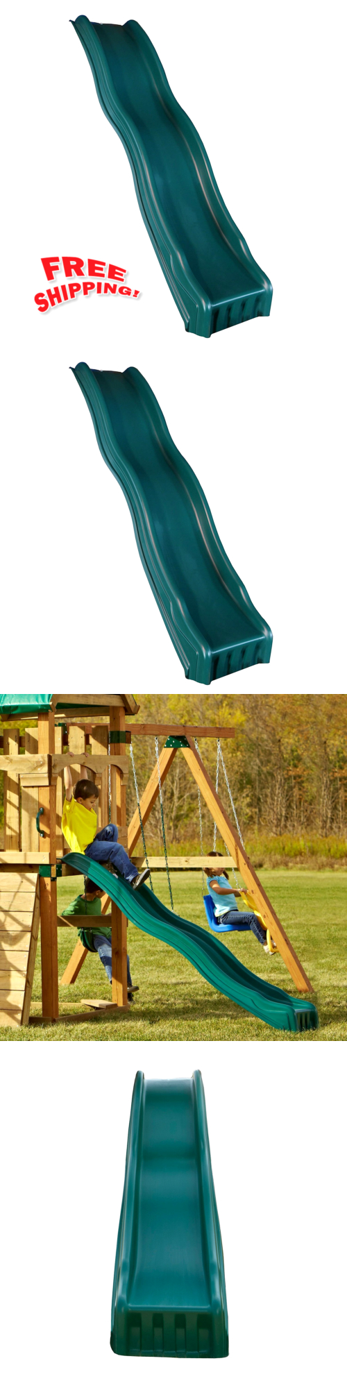 swings slides and gyms 16515 outdoor wave backyard slide play