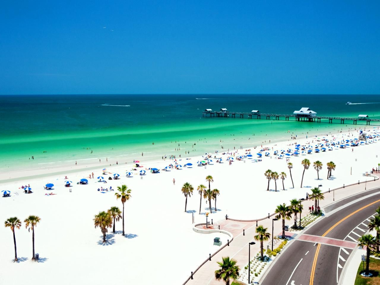 Clearwater Beach Has Lured Countless Families And S To Its Broad Sandy Ss Beachfront Hotels Spread Along A Narrow 3 Mile Stretch Of The