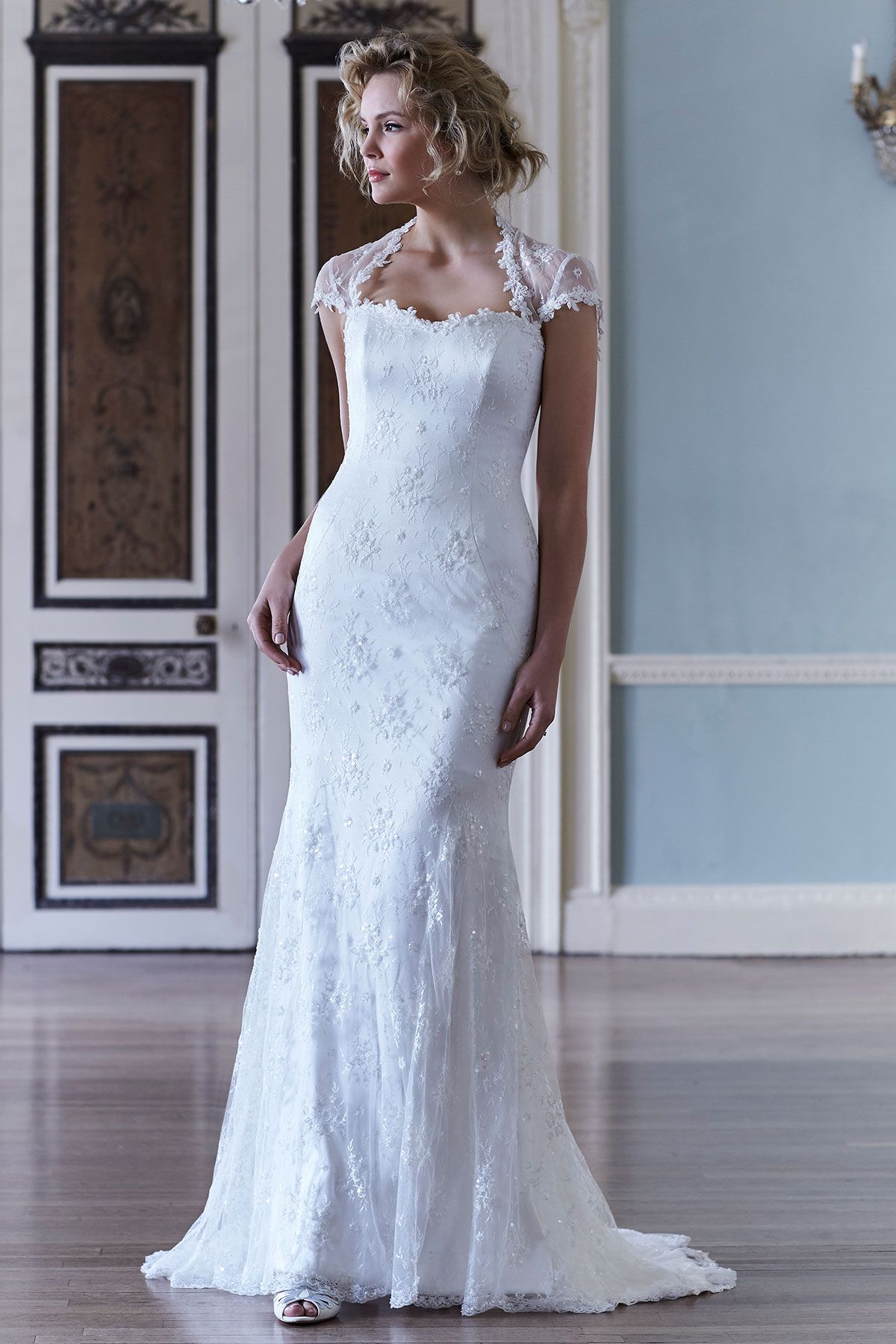 Sassi Holford Fishtail, Fit and Flare Wedding Dress