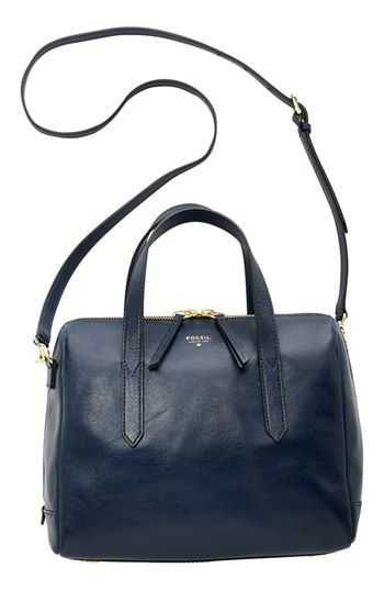 Fossil Sydney Leather Satchel All Handbags Accessories Macy S