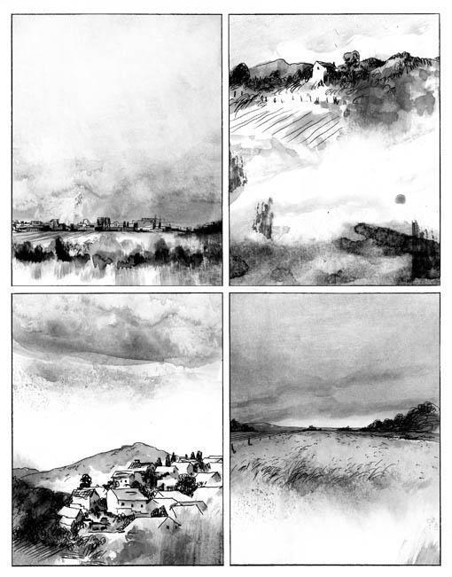 Blast I / II. Manu Larcenet | Drawings I like | Comic book ...