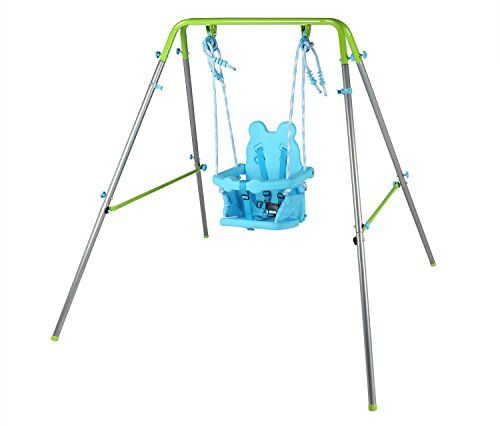 Toddler Swing Set Great For Indoor And Outdoor Play For Infants 9 36 Months Old Safety Harness On Single Nursery Toddler Swing Toddler Swing Set Baby Swing Set
