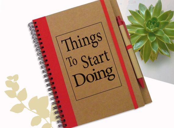Do It  Notebook Designed Journal Gift Notebook von LooveMyArt