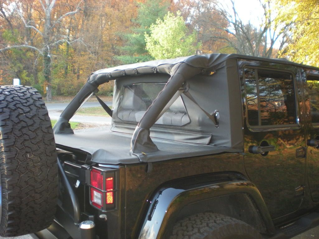 Installing A Wraparound Windjammer On An Unlimited 4 Door Jeep Jk Jeep 4 Door Wrangler