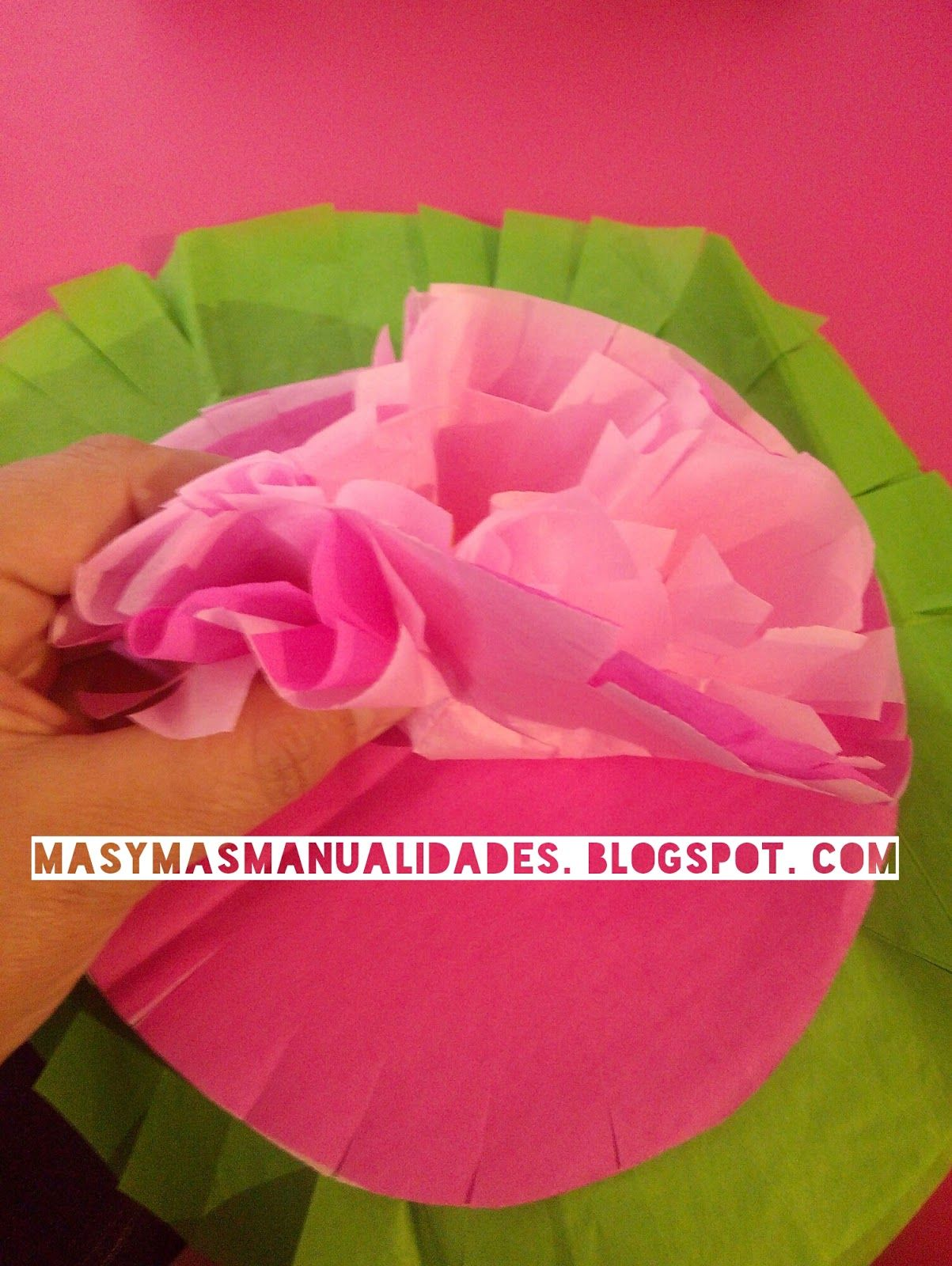 Hacer Flores Con Papel Beautiful Manualidad Para Hacer Flores