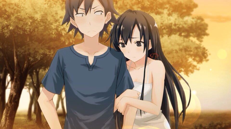 I think Hachiman and Yukino are the best couple :D | Anime ...