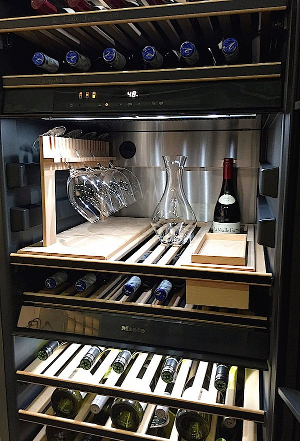 Quintessential Cooking With Miele Home Wine Cellars Wine Cellar