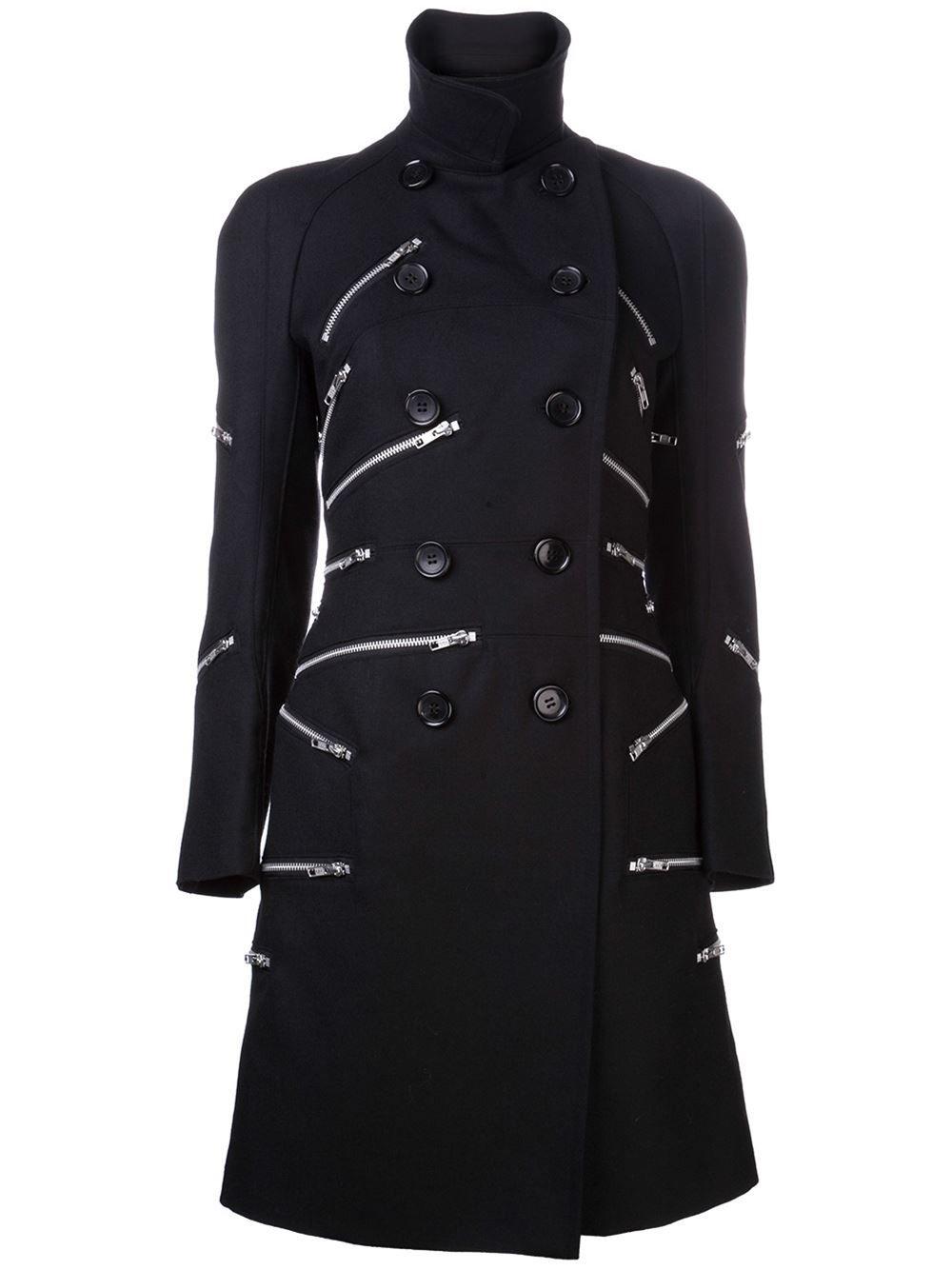 Junya Watanabe Comme Des Garçons Zipper Coat - - Farfetch.com