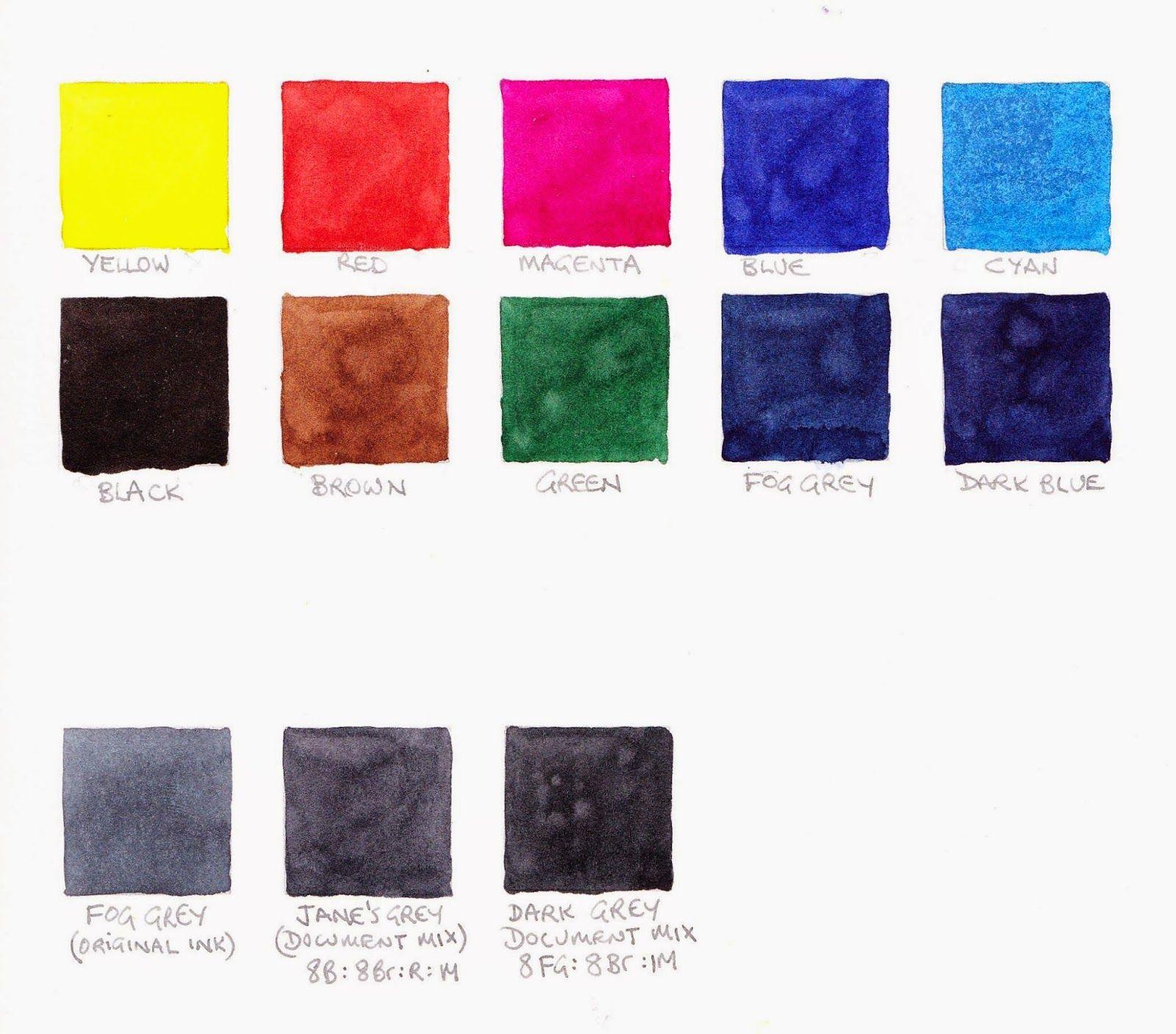 New Schmincke Watercolours 2017 Happy Paintings Sketch Book