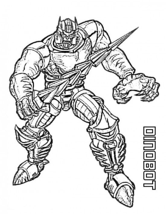 free transformers coloring pages picture 4 550x711 picture