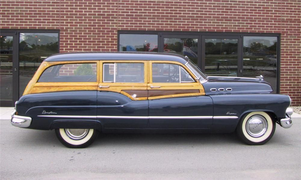 1950 Buick Super Estate Wagon 15790 Buick Super Estate Wagon