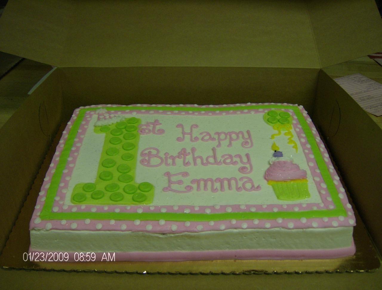 1st birthday boy sheet cake blue evan birthday cakes Pinterest
