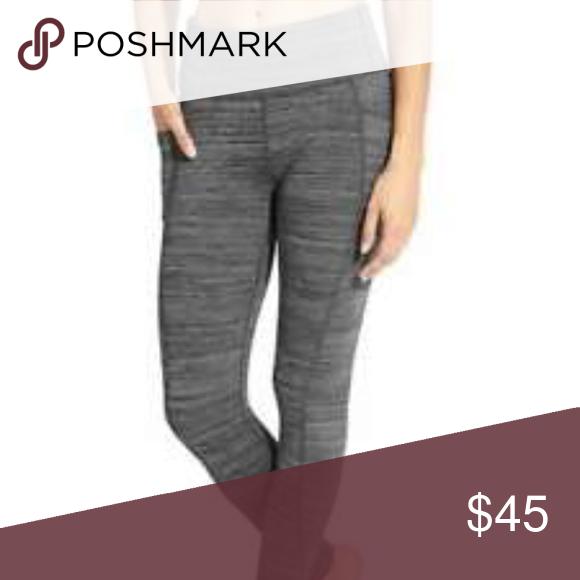e1466f4a6 Athlete Spacy Grey Leggings with Side Pockets BODY NWOT 47% Nylon 34%  Polyester 19% Lyrca Spandex RN  54023 Athleta Pants Leggings