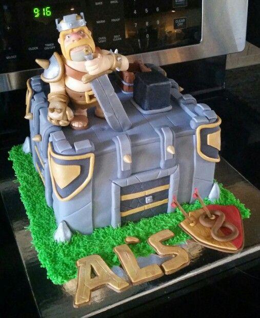 clash of clans cake   luna cakes   pinterest   gâteau