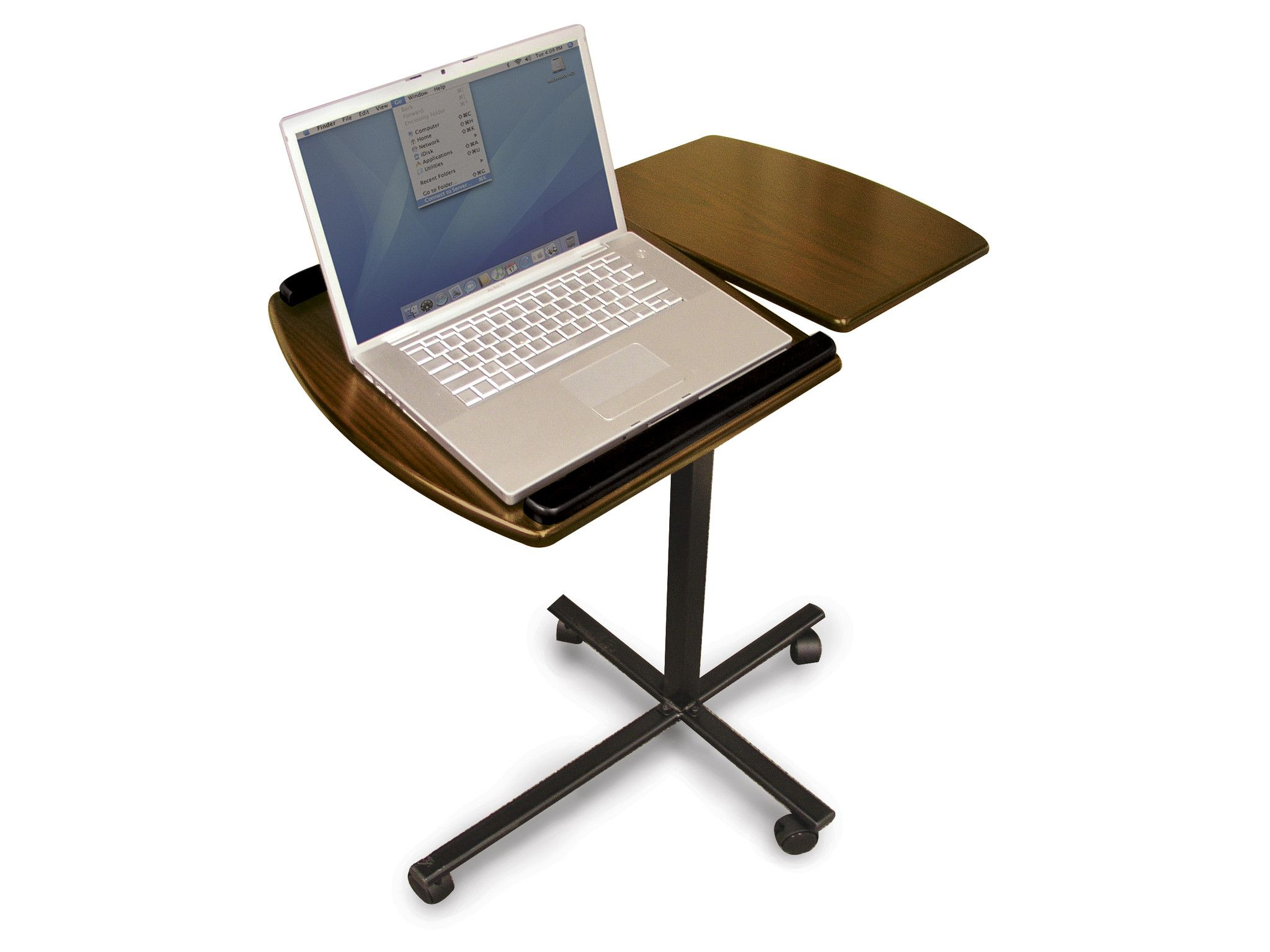 Windsor Split Top Portable Laptop Desk In Walnut   Bellagio Italia Amazing Ideas