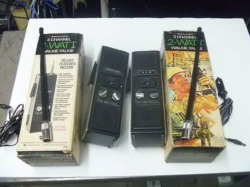 Radio Shack Toys For Boys : Vintage realistic rs radio shack walkie talkies cb