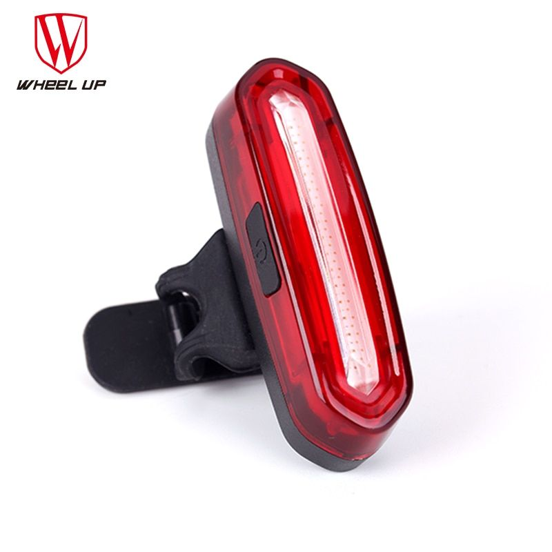 USB Charging Bicycle Front Waterproof Safety Warning Taillight Bicycle Light