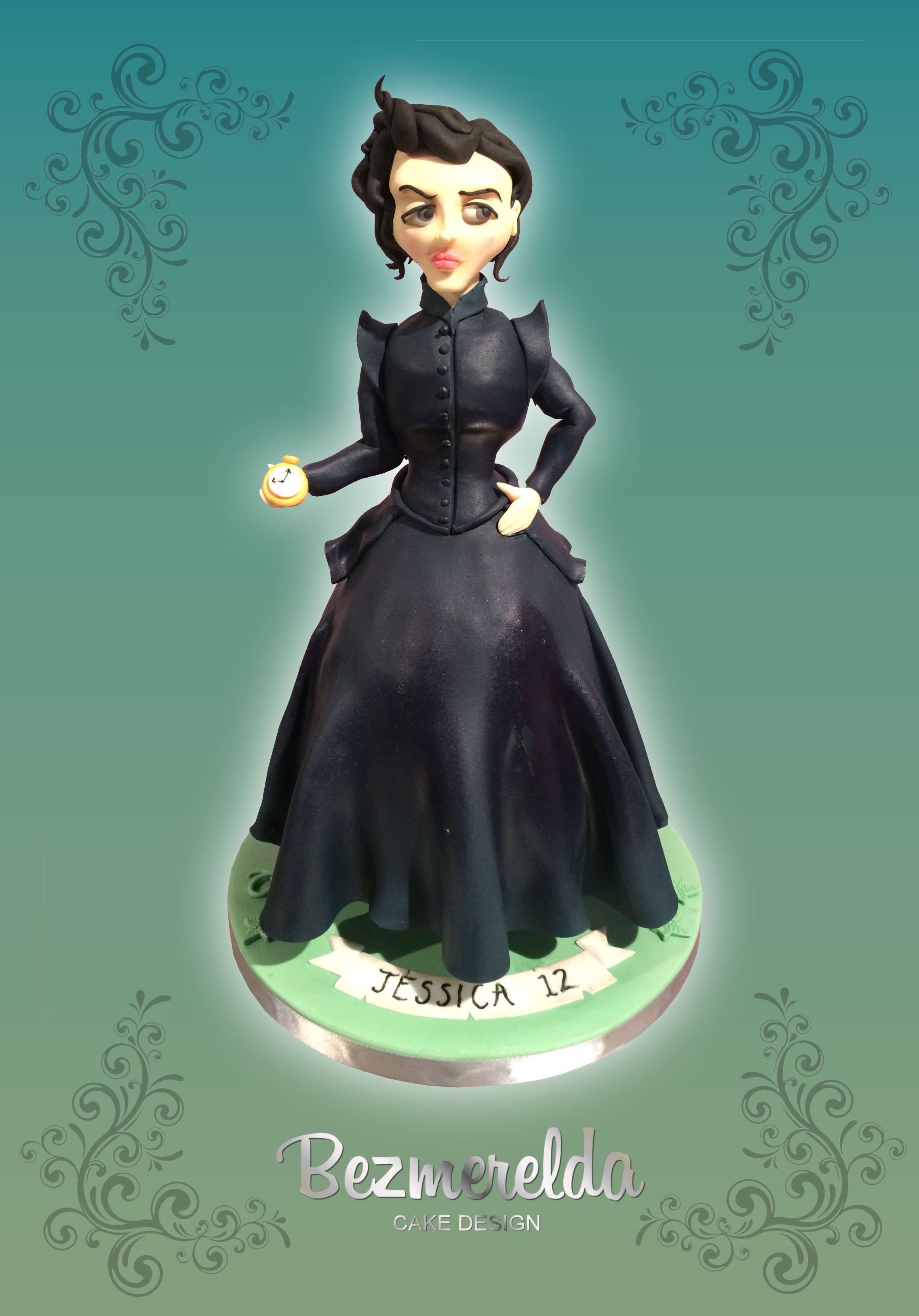 Miss Peregrine cake - Made by Bezmerelda