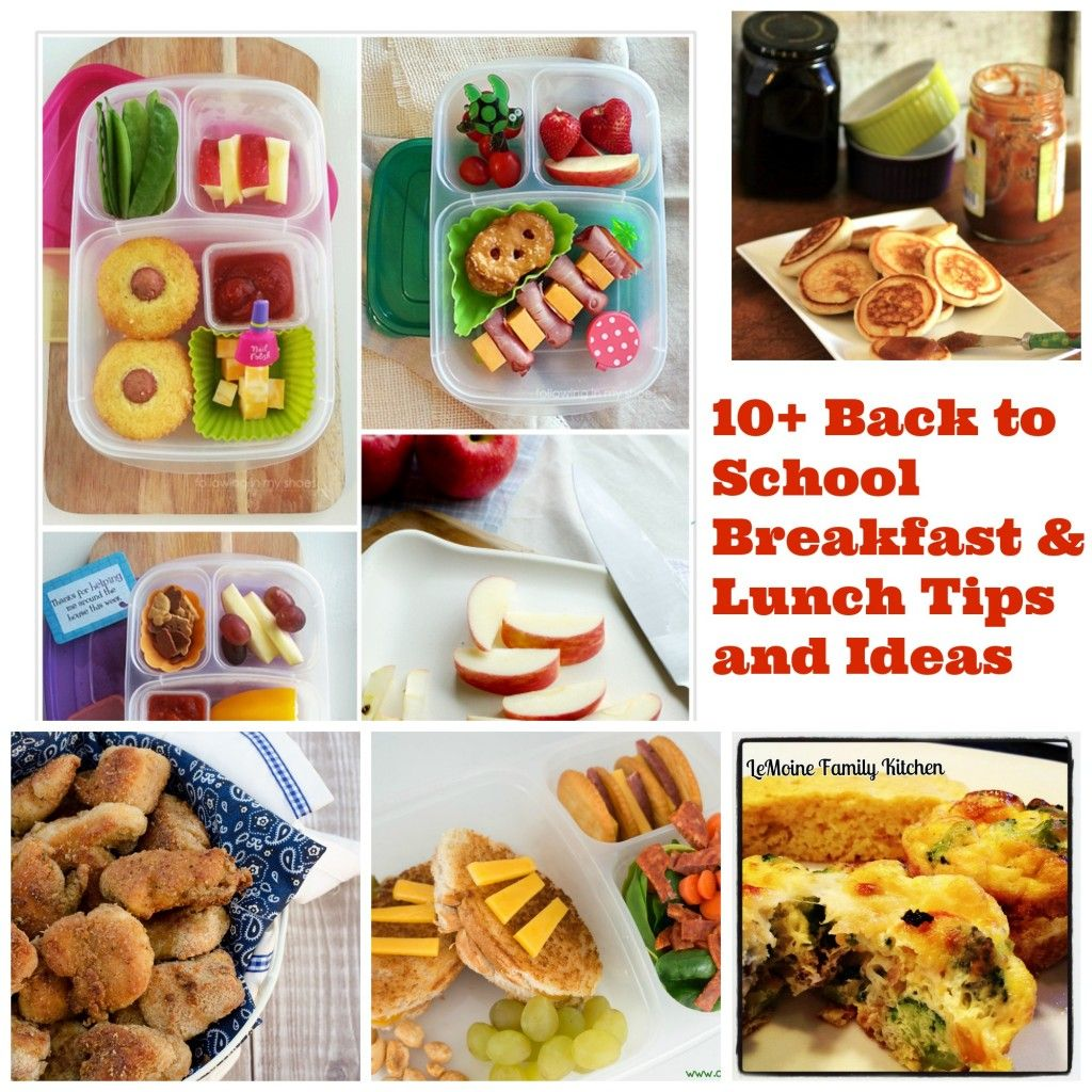 10+ Back to School Breakfast & Lunch Tips and Ideas | LeMoine Family Kitchen #backtoschool #breakfast #lunch #kidapproved #bentobox