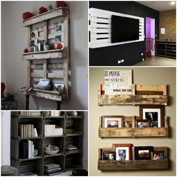 100 möbel aus paletten - schöne wohnideen für sie | zum, Wohnideen design