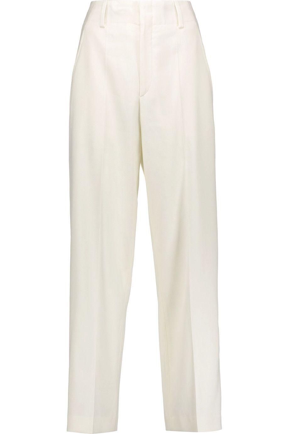491a08a1d30 ISABEL MARANT Dallin Crepe Straight-Leg Pants. #isabelmarant #cloth ...