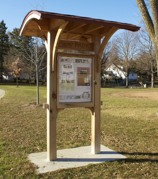 friends of way park givemn outdoor kiosks info boards donation boxes pinterest park. Black Bedroom Furniture Sets. Home Design Ideas