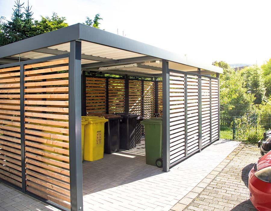 Einhausung von Siebau mit Durchgang   Einhausung, Garten ...