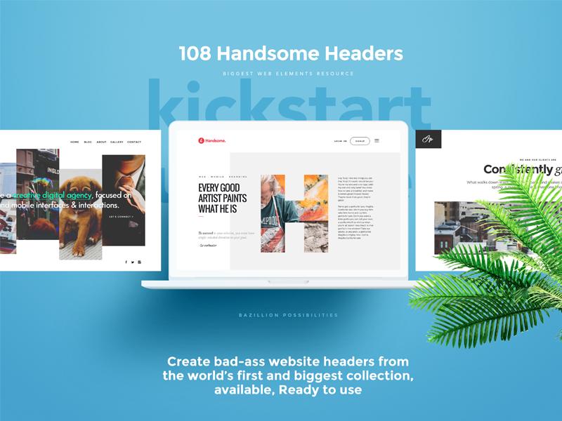 Drag Drop Web Headers Website Header Fun Website Design Minimal Web Design