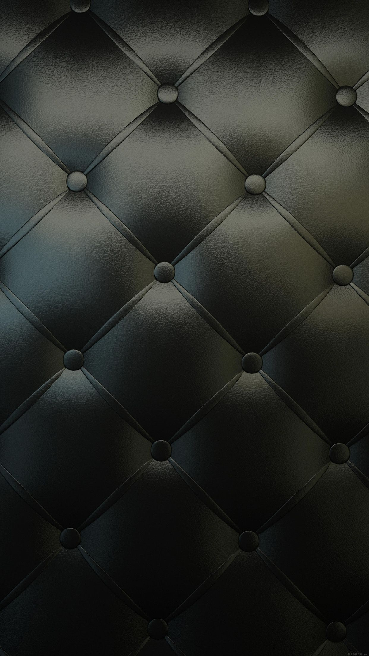 Dark Chesterfield Sofa Pattern Iphone 6 Plus Hd Wallpaper Black