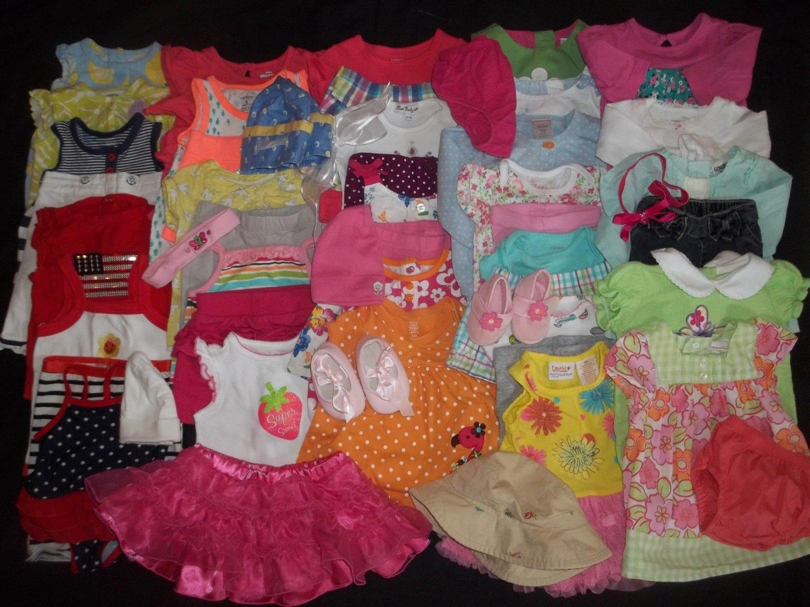 Awesome 53 Baby Girls Newborn 0 3M 3 6M Spring Summer Clothes Outfit