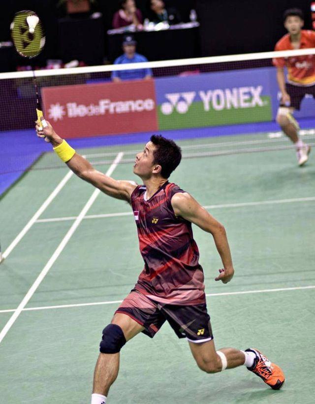 Taufik Hidayat Of Indonesia Badminton Olahraga Kartun