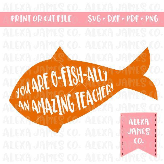 Download O-fish-ally Amazing Teacher SVG / Teacher SVG / End of ...