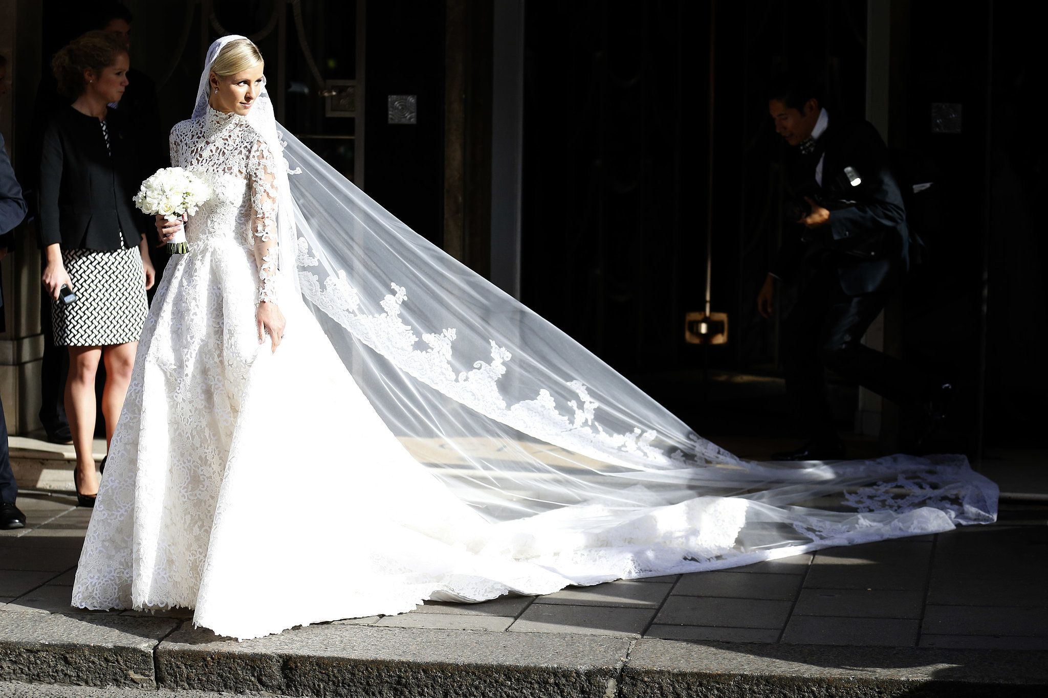 Valentino wedding dress  Nicky Hilton Makes a Case For Covering Up on Your Wedding Day