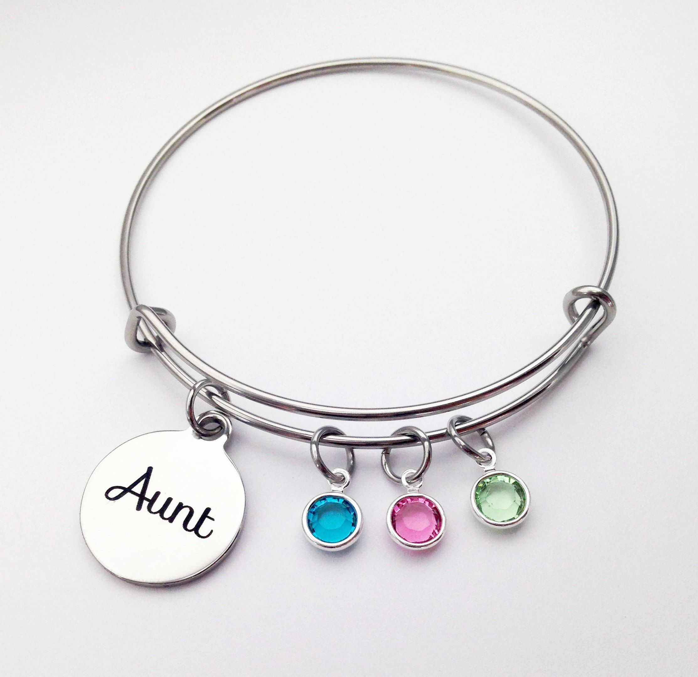 Aunt Bracelet Gift Gifts From Niece Christmas For