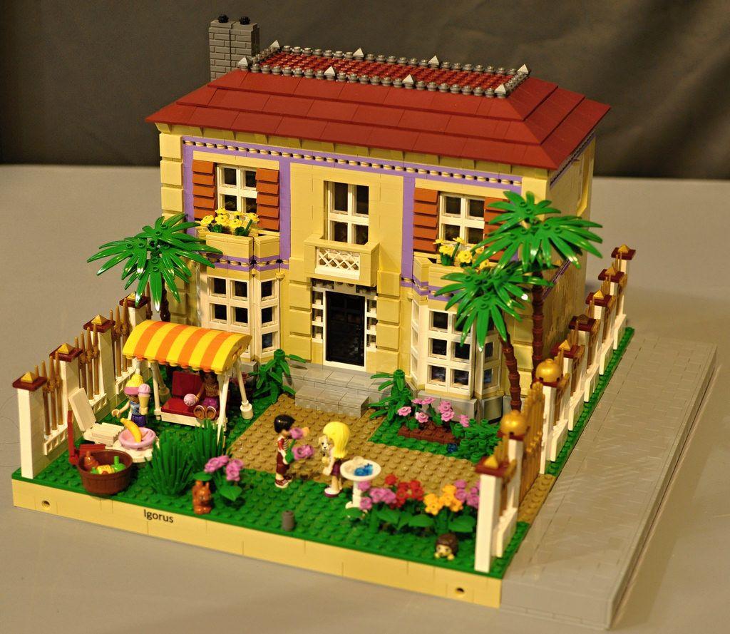 Lego Friends La Villa D Olivia Pas Cher