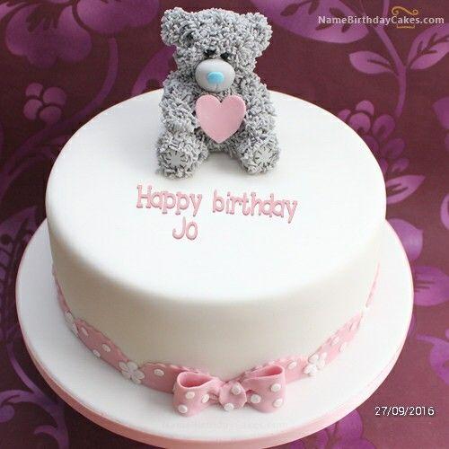 Tatty teddy cake (Jo) | yogashree naidu | Cake name, Birthday